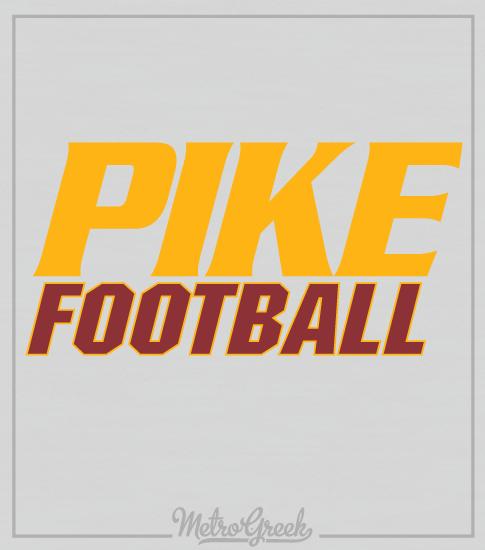 Pike Intramural Football Sports Shirt