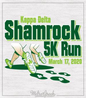 Shamrock 5K Run Kappa Delta Shirt