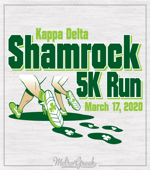 Shamrock 5K Run Kappa Delta Shirt