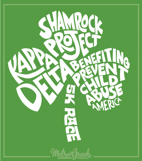 Shamrock Project Kappa Delta Shirt