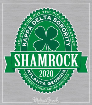 Shamrock Shirt Kappa Delta Label
