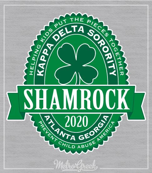 Shamrock Shirt Kappa Delta Label
