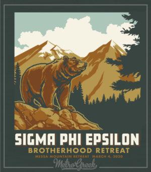 Sig Ep Brotherhood Retreat Shirt Bear Mountain