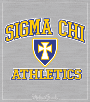 Sigma Chi Intramural Shirt Cross