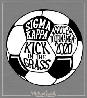 Sigma Kappa Soccer Tournament Shirt