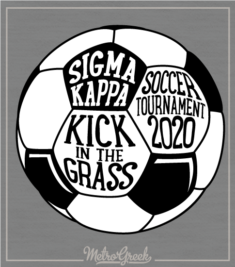 Sigma Kappa Soccer Tournament Shirt