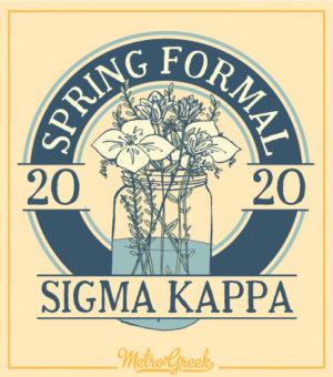 Sigma Kappa Spring Formal Shirt