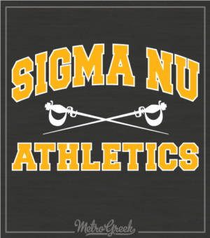 Sigma Nu Intramural Athletics Shirt