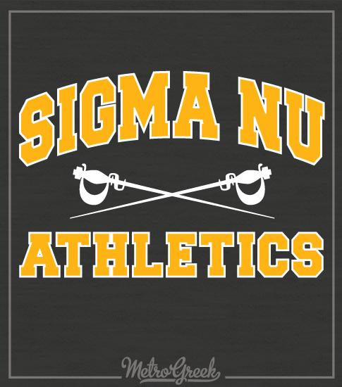 Sigma Nu Intramural Athletics Shirt