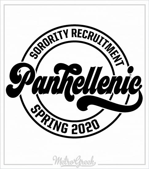 Sorority Recruitment Shirt Panhellenic