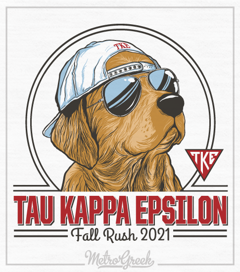 Teke Spring Rush Shirt Golden with Hat