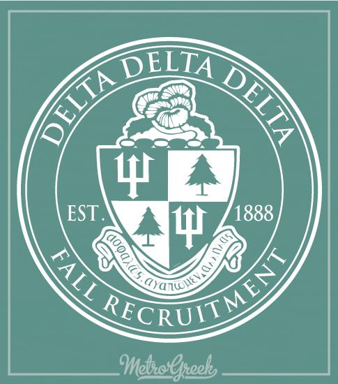 Delta Delta Delta Classic Crest Shirt