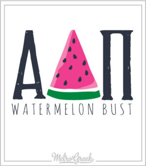 Watermelon Bust Shirt Team ADPi