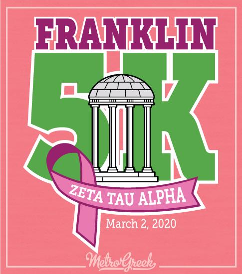 Zeta Franklin 5K Run Walk Shirt