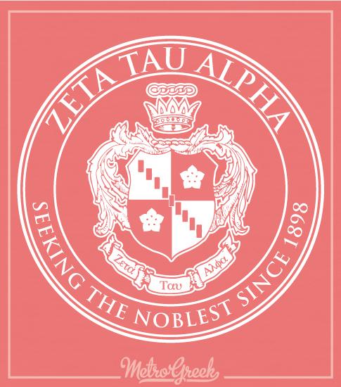 Zeta Tau Alpha Classic Crest Shirt