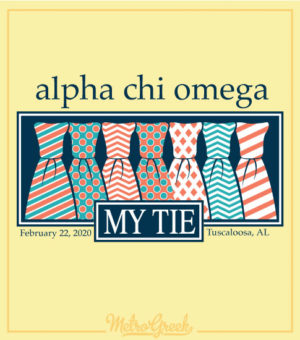 Alpha Chi My Tie Mixer Shirt