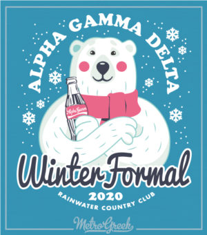Alpha Gamma Delta Winter Formal Shirt