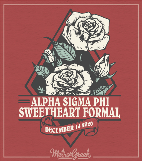 Alpha Sigma Phi Sweetheart Formal Shirt