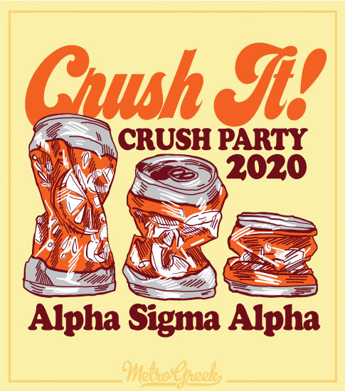 Crush Party Shirt Alpha Sigma Alpha