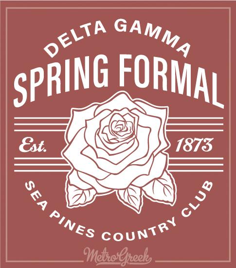Delta Gamma Spring Formal Shirt Rose