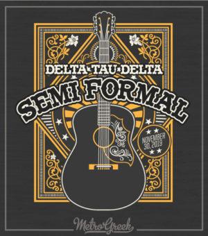 Delta Tau Delta Semi Formal Shirt