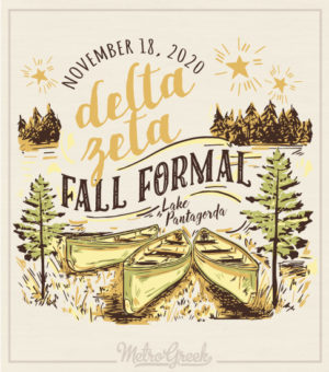 Delta Zeta Fall Formal Shirt