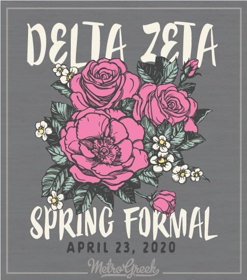 Delta Zeta Spring Formal Shirt