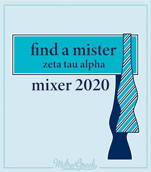 Zeta Find a Mister Mixer Shirt