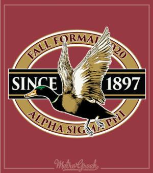 Fraternity Formal Shirt Mallard Duck