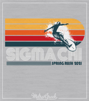 Fraternity Rush Shirts Surfer