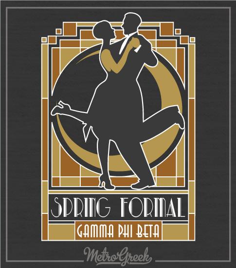 Gamma Phi Beta Twenties Formal Shirt