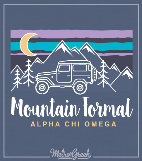 Mountain Formal Shirt Jeep and Mountains
