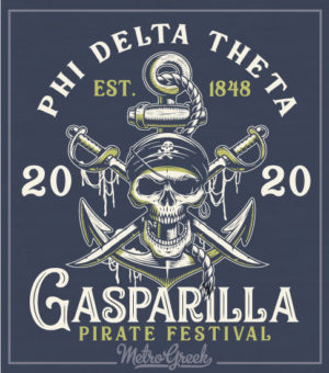Phi Delta Pirate Party Shirt