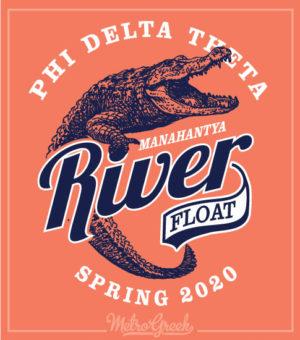 Phi Delt River Float Shirt