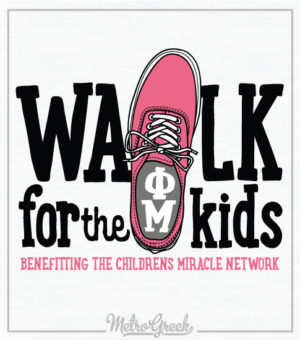 Phi Mu Childrens Miracle Network Shirt