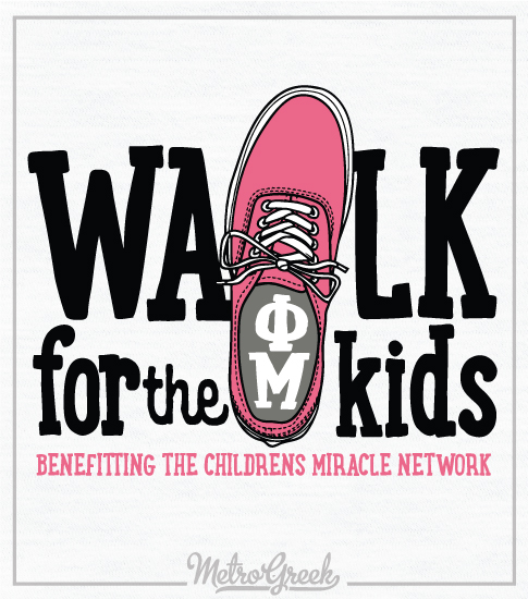 Phi Mu Childrens Miracle Network Shirt