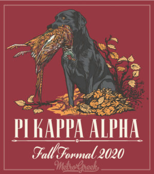 Pike Fall Formal Shirt Hunting Dog