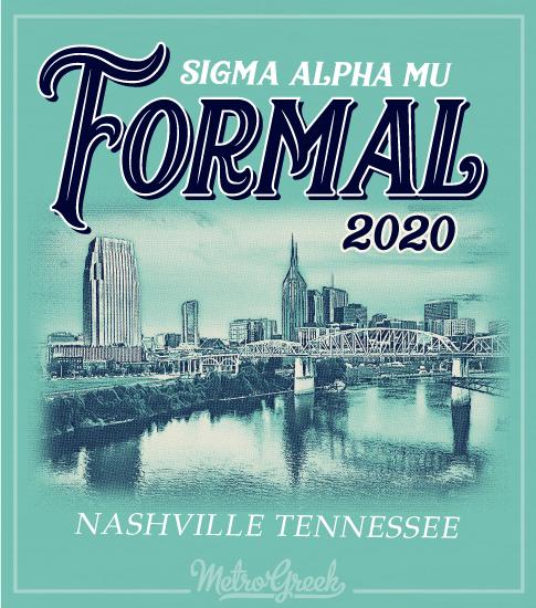 Sammy Formal Shirt Cityscape