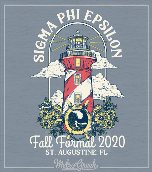Sig Ep Fall Formal Shirt Lighthouse