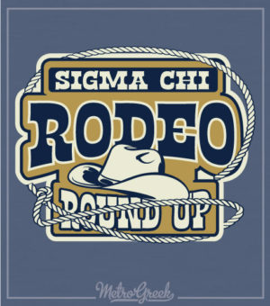 Sigma Chi Western Rodeo Shirt