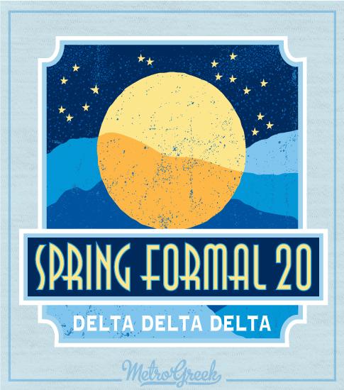 Spring Formal Shirt Moon and Stars