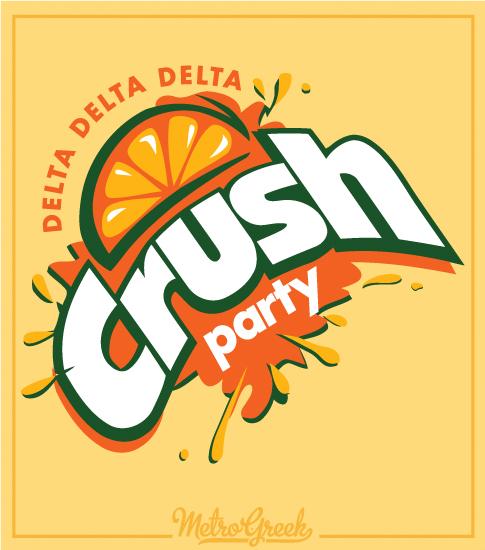 Delta Delta Delta Crush Party Shirt