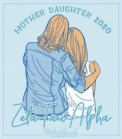 Zeta Tau Alpha Mother Daughter Shirt