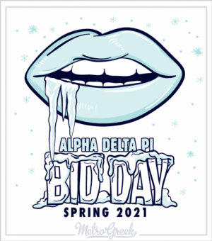 Alpha Delta Pi Bid Day T-shirt