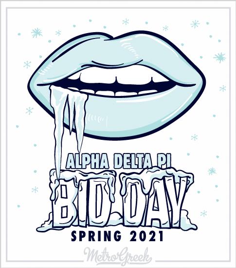 Alpha Delta Pi Bid Day T-shirt