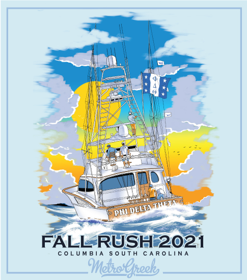 Phi Delt Fraternity Rush Shirt