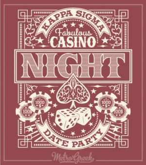 Kappa Sigma Casino Date Night Shirt