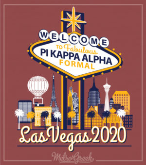 Pi Kappa Alpha Las Vegas Formal Shirt