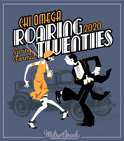 Roaring Twenties Formal Shirt Chi O