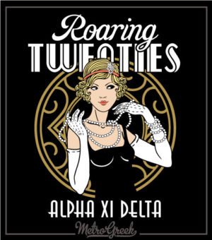 Roaring Twenties Social Shirt Flapper